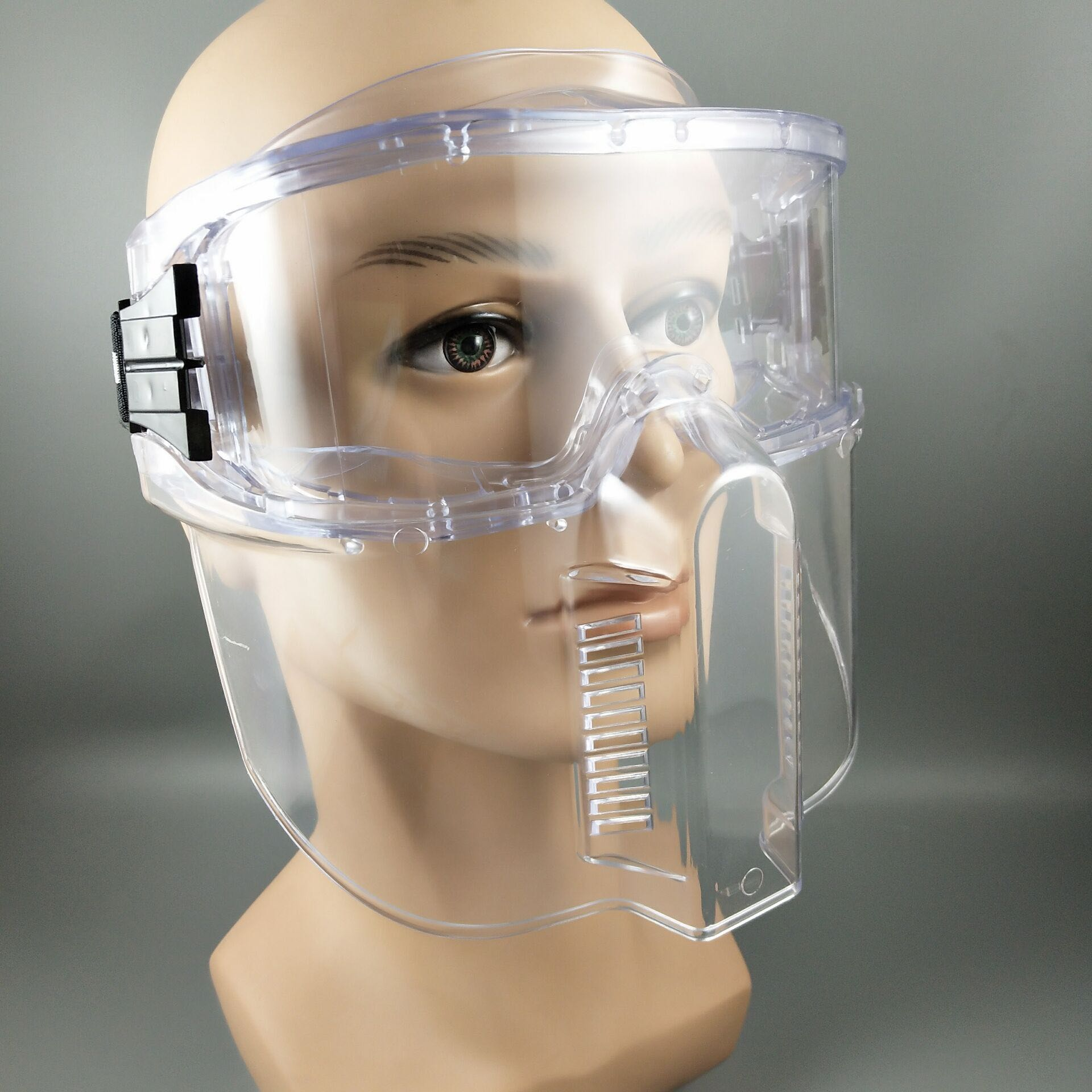 Mail bag anti fog eye mask protective mask people with glasses can use transparent lens anti impact goggles