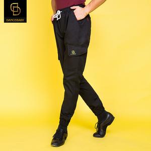 dancebaby拉丁舞练功服舞蹈裤子运动裤跳舞练习裤子男女同款MD16
