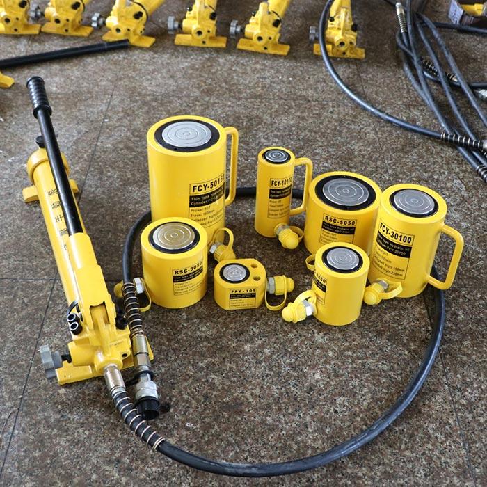 [分离式液压千斤顶 大油缸起重工具10203050100T吨立式微型油压顶]