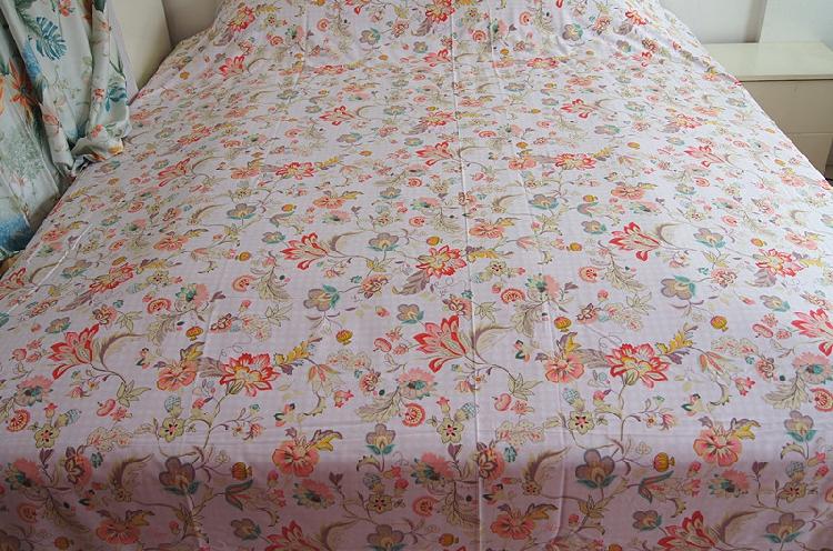 HF布艺家纺清爽棉系列布料 定制床单被套等床品单件套件