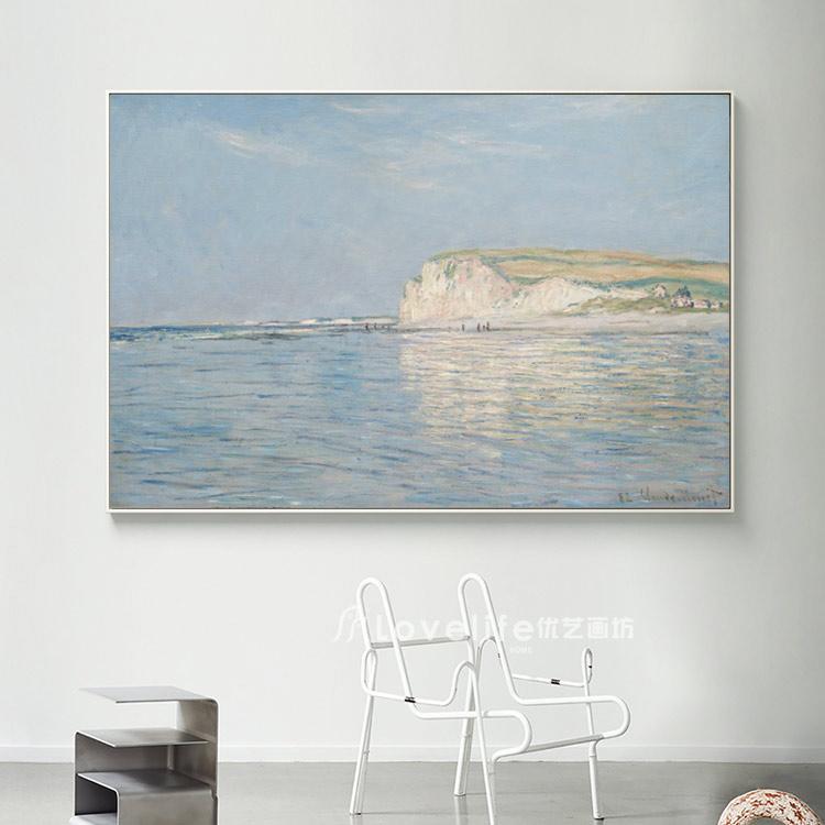 墙画壁画餐厅挂画电箱装饰画山水无框画抽象画风景挂画莫奈油画