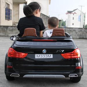 孩子乐双座儿童电动车四轮遥控宝宝越野超大号玩具汽车小孩可坐人