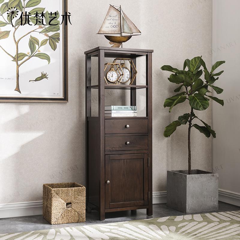 Отлично брахма искусство Karron американский простой гостиная дерево угол кабинет хранение кабинет стенды кабинет шоу небольшой шкаф стоять шкаф