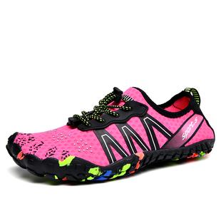 运动鞋 女贴肤瑜伽鞋 深蹲硬拉跳绳鞋 女健身房综合训练室内跑步机鞋