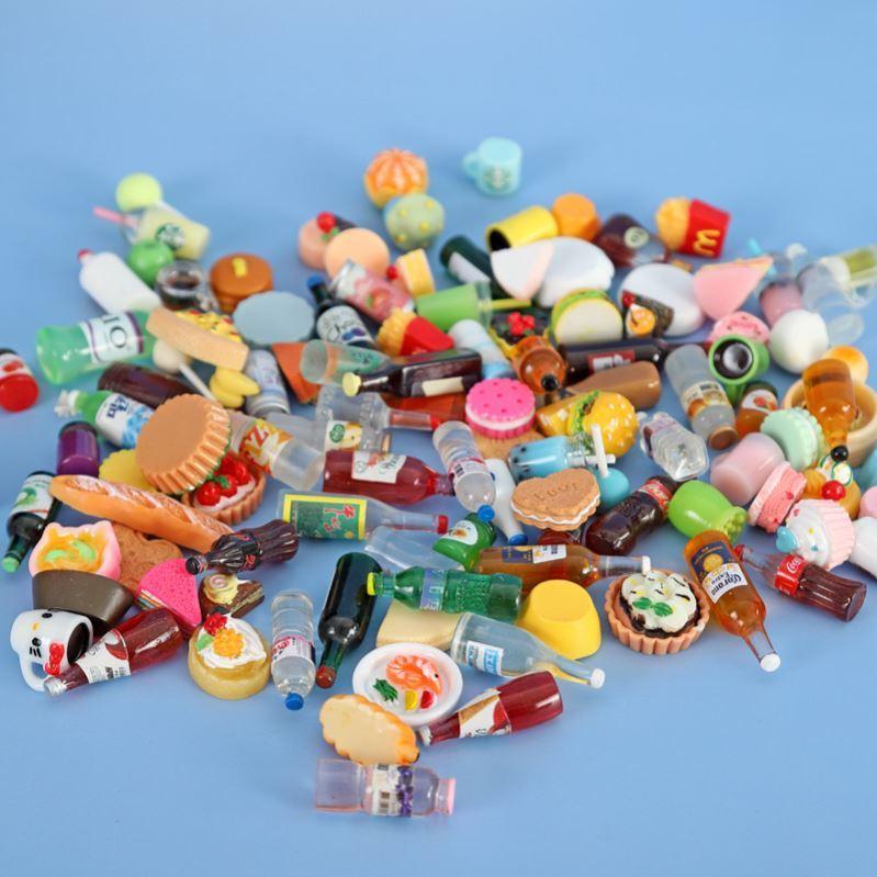网红超市盲袋微缩不重复饮料世界玩具食玩食物盲袋迷你可以仿真