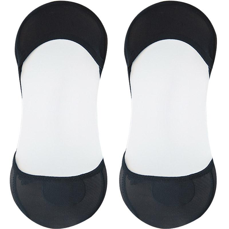 夏季高跟鞋袜子女凉鞋超浅口隐形防滑袜底不掉跟船袜冰丝薄款短袜
