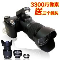 正品长焦数码照相机高清家用旅游摄像类单反相机录像包邮特价