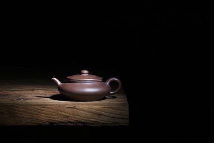 相逢一壶茶[需询价] 嘉德 趺坐逃禅 李艳 底槽青 全手紫砂壶 九瀚