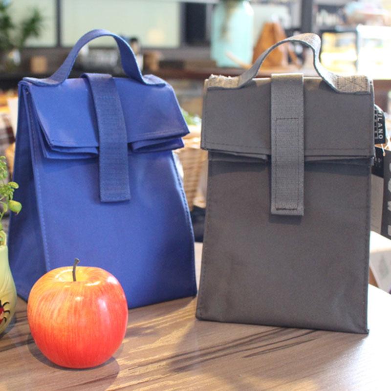 保温袋女童饭盒袋便当包可爱小小号小清新迷你饭包包手提餐袋