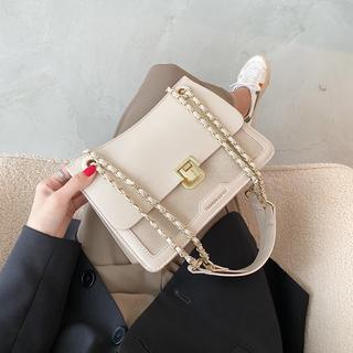 质感流行小众设计小包包女2020新款潮网红时尚百搭单肩链条斜挎包