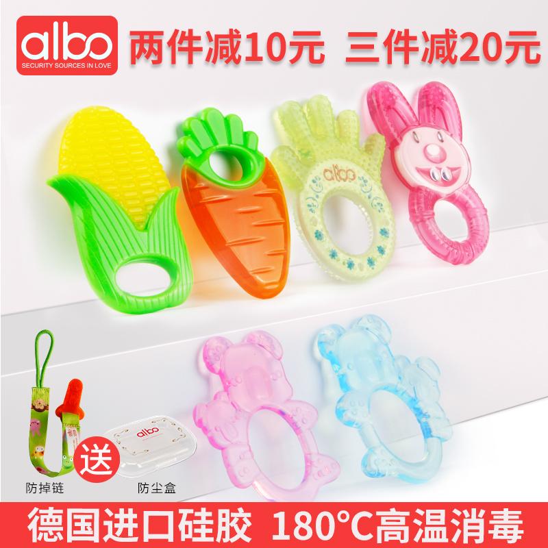Любовь бао молярный палка ребенок ребенок прорезыватель укусить игрушка 0 неядовитый силикагель мягкий воды повар 3-6-12 месяцы