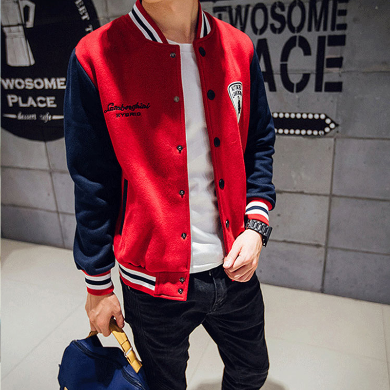 Spring 2020 new baseball uniform mens trend Korean version student Trend Sports couple coat class suit pilot jacket