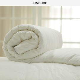 蓝铂 化纤棉被 酒店加厚双人冬被被芯被子白色冬季全棉空调被图片