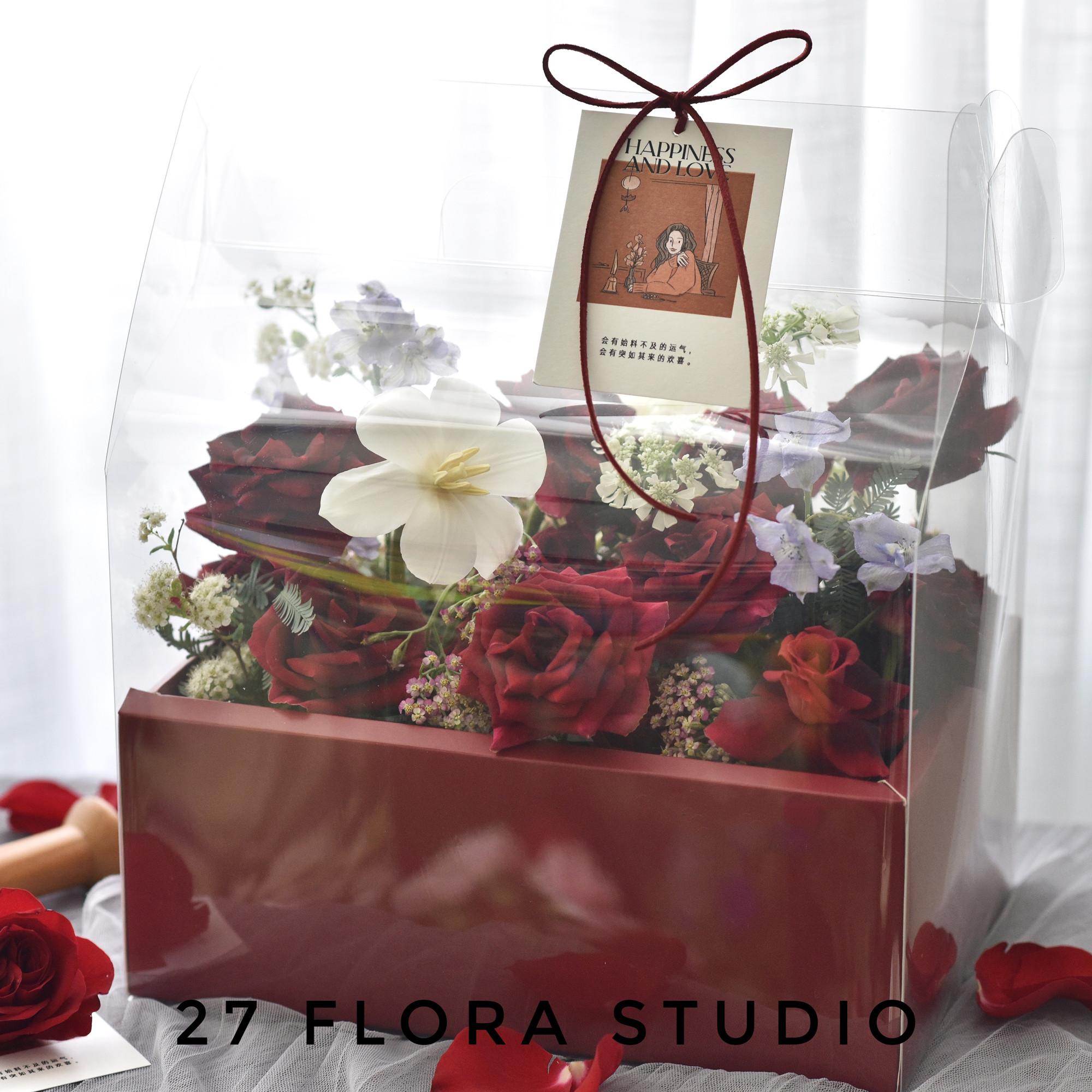 毕业表白个性韩式ins鲜花礼盒玫瑰创意生日惊喜北京花店同城速递