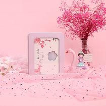 网红同学录小学生六年级毕业纪念册小仙女可爱少女心铁盒装带锁