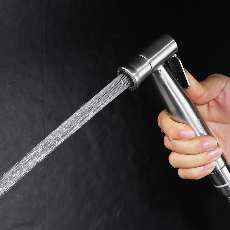 婦洗器噴頭304不鏽鋼馬桶噴槍龍頭套裝增壓衝洗器潔身洗屁股神器