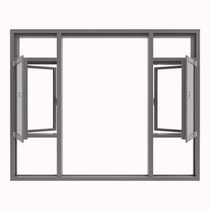 杭州斷橋鋁門窗封包陽臺隔音平開窗