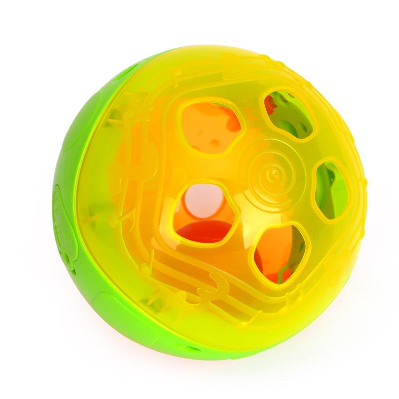 彙樂977 智慧閃閃球 嬰幼兒益智電動音樂閃光學爬健身手抓球0~1歲