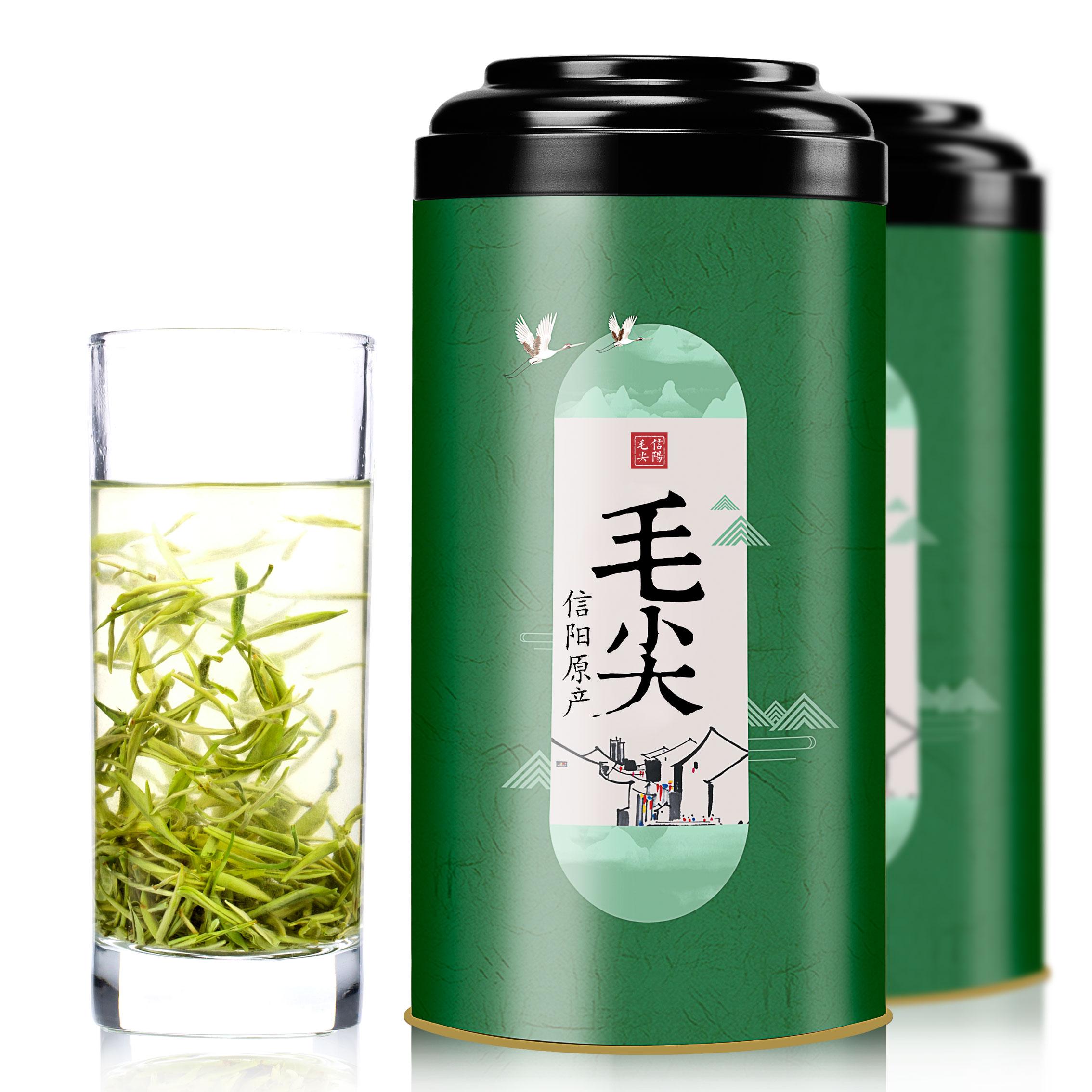 Северная любовь Xinyang Maojian Tea 2018 новый Чай Маоцзянский чай Зеленый чай Аутентичный Mingqian Spring Tea Sprout