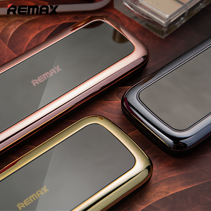 REMAX Mira mobile power 5000 Ma Android Apple mobile phone power bank fashion mirror emergency makeup