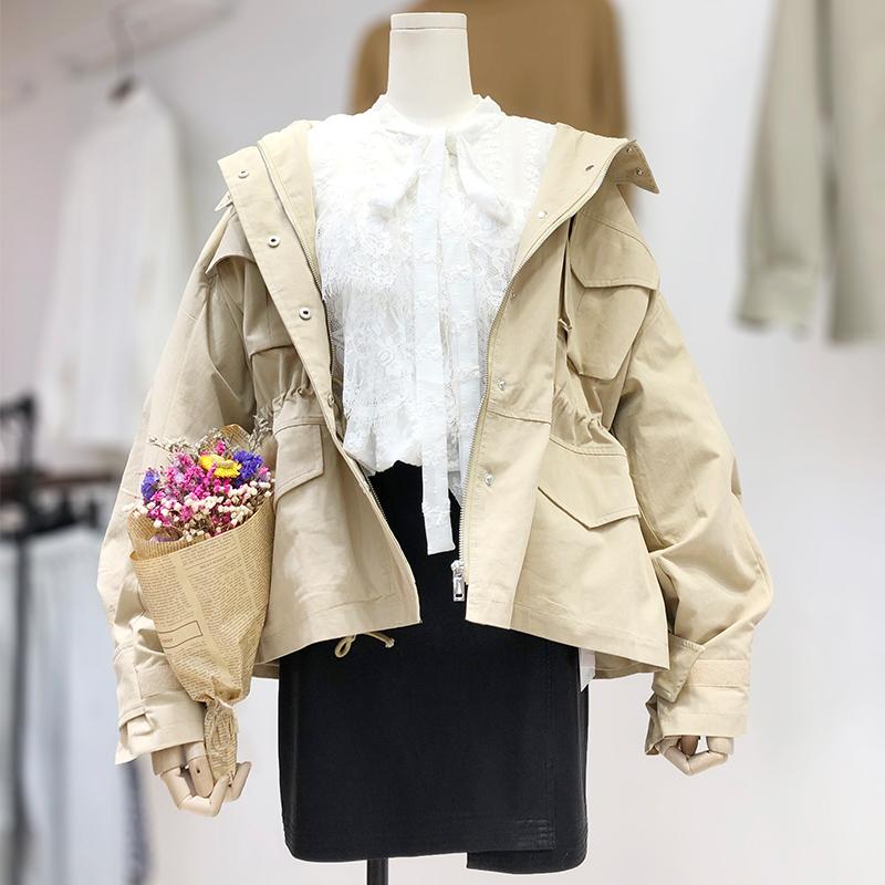 大码女装胖妹妹胖MM洋气三件套套装蕾丝雪纺衫PU皮短裙风衣外套