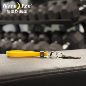 美国奈爱NiteIze彩色钥匙手环带钥匙扣硅胶手环便携手持钥匙扣