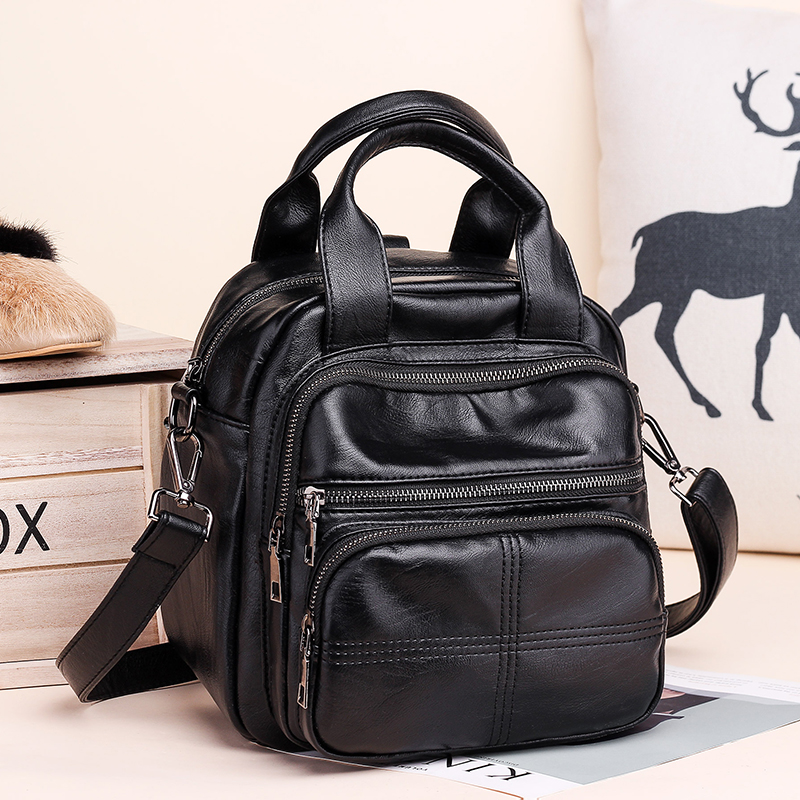 2018 new multi-functional three-way backpack for women