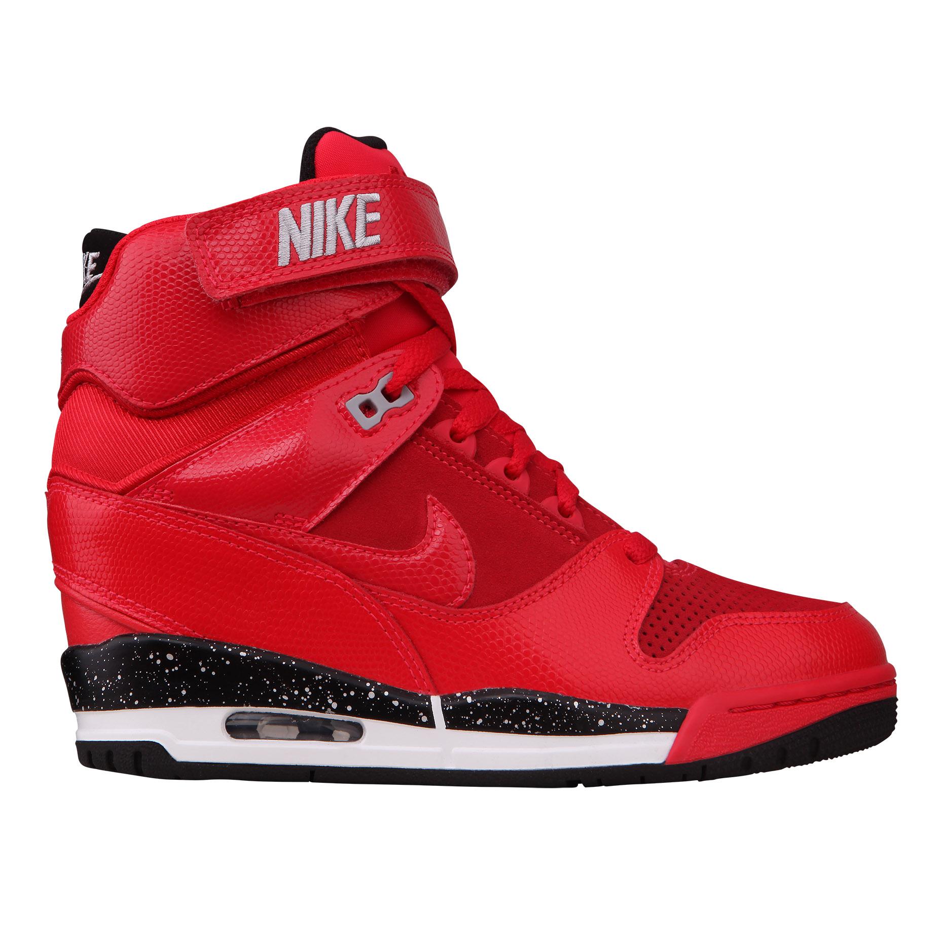 Nike Nike Official NIKE AIR REVOLUTION SKY HI 599410 women's