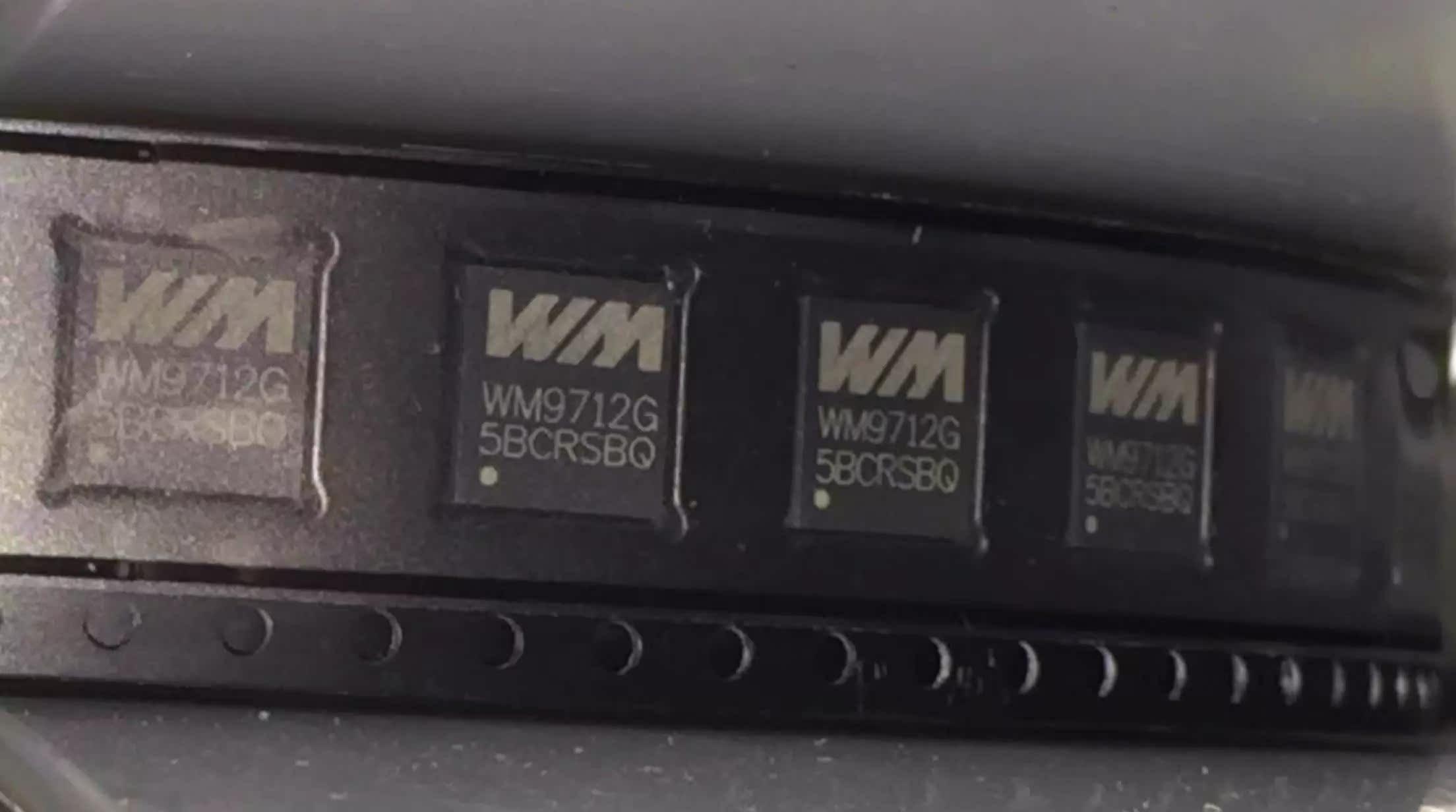 原装正品 WM9712LGEFL 音频编解码器 WM9712G QFN-48 电源IC芯片