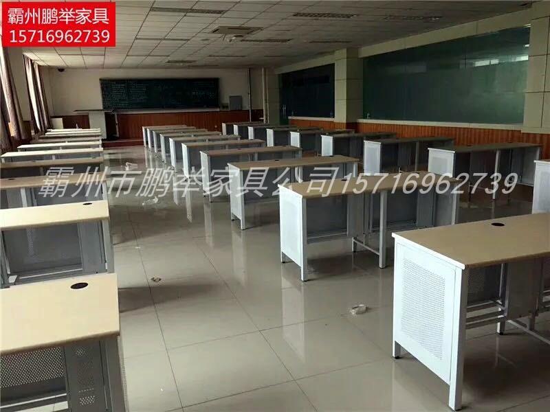 可定制学校电脑机房桌微机室辅导班学生培训室教师办公单双人单人