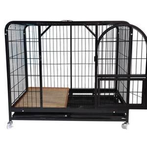 加粗超大狗笼子L大型犬 特大号 1.5米 金毛狗笼 可拆卸边牧大狗笼