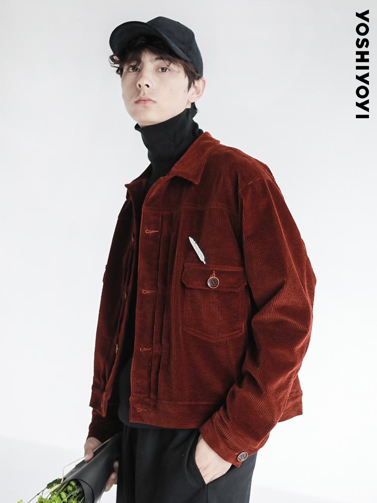 有时又一原创秋季新款复古宽松夹克