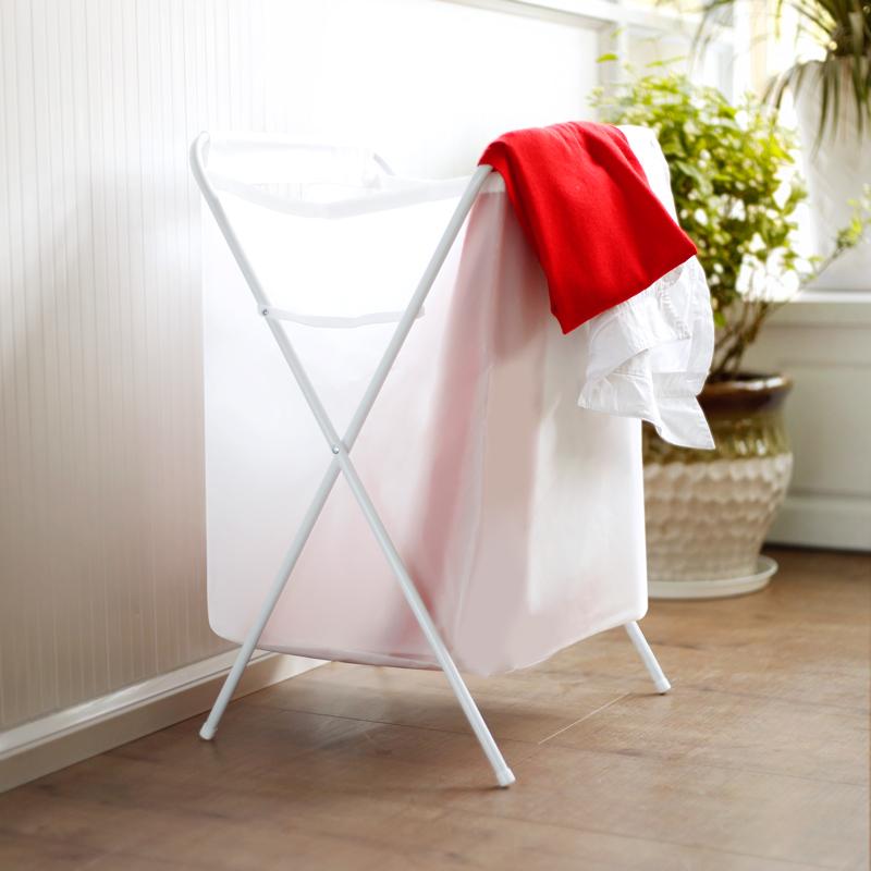 洗衣�@折�B放�K衣�@子衣服�t�K衣物北�W玩具收�{筐宜家用塑料布�