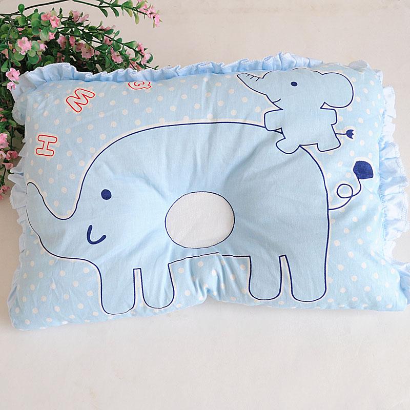 哈咪奇初生嬰兒枕頭防偏頭寶寶枕頭嬰兒定型枕糾正偏頭新生兒枕頭