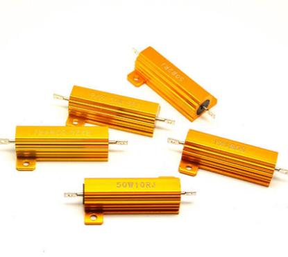 黄金铝壳 omega 2r4r6r8r20k欧电阻