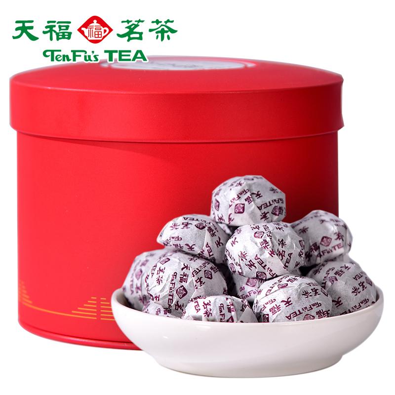 250g云南熟普糯米香小茶坨浓香型糯香普洱小沱茶熟茶天福茗茶