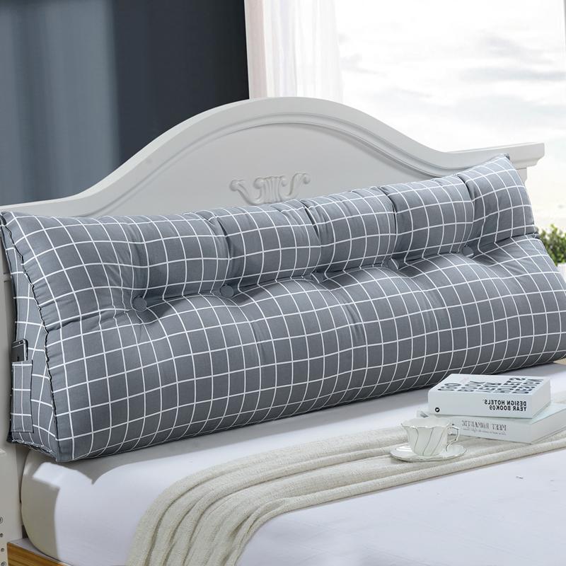 床頭靠墊雙人三角大靠背榻榻米軟包沙發抱枕靠墊床靠墊背護腰靠枕