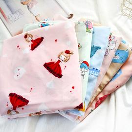 儿童空调被 夏季棉绸宝宝午睡夏凉被 双层人造棉卡通小被子薄被图片