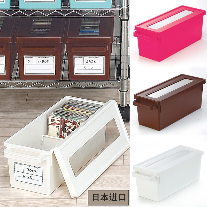 时尚创意大容量CD盒塑料车载收纳dvd包游戏光盘ps4收纳盒