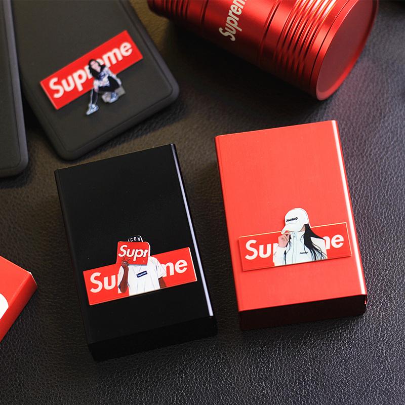 10月22日最新优惠潮牌烟盒超薄塑料20支装男士软包