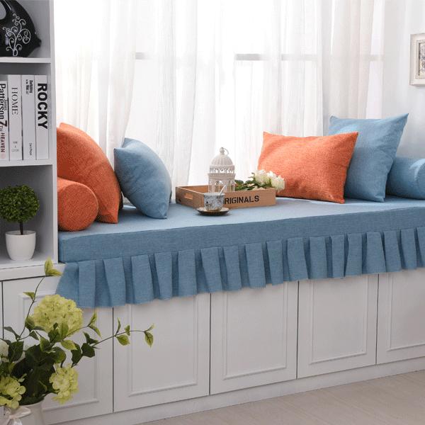 Победа бригада высокой плотности губка эркер подушка стандарт окно тайвань подушка татами губка подушки на диване кровать обивка сгущаться фиксированный