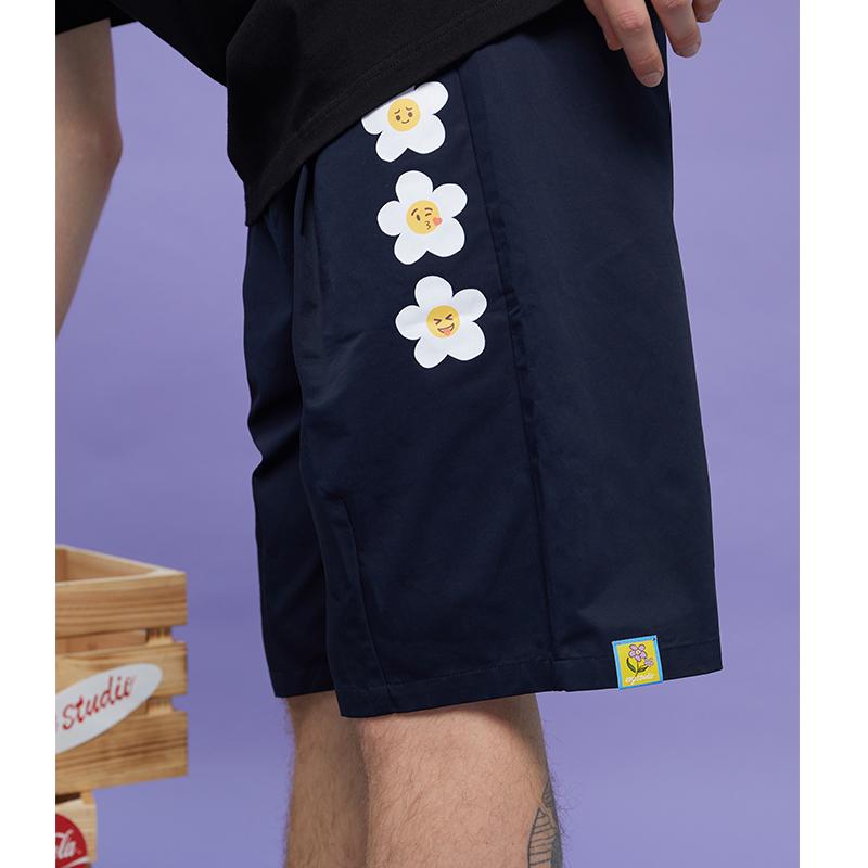 【Oxy潮牌店】Oxystudio三色日系工装短裤情侣新疆棉裤学生五分裤