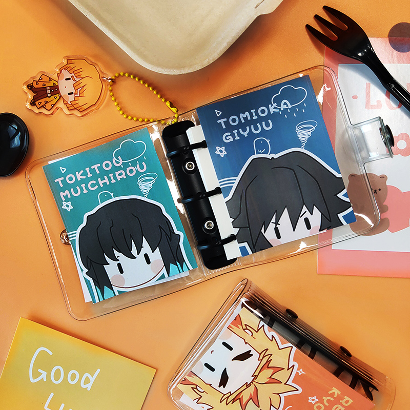 Ghost blade animation cos around my wife Shanyi note book Fukuoka volunteer gift Pocket Mini loose leaf
