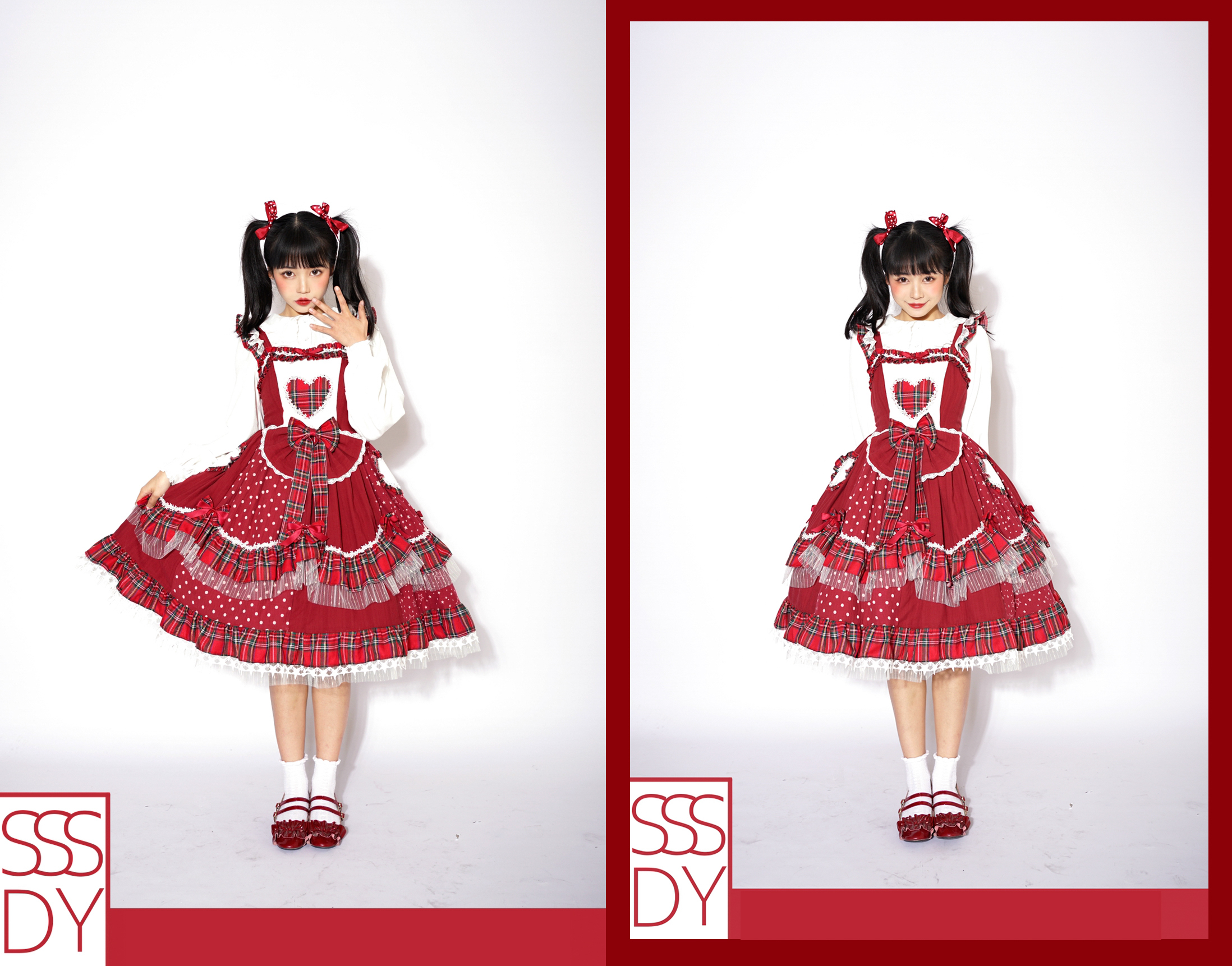 YPL new red fire gorgeous jsk skirt spot check ancient morning style Lolita style