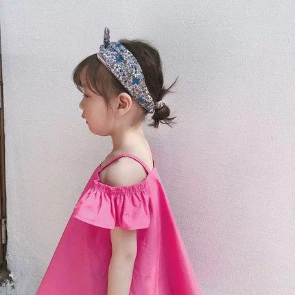 糖果色连衣裙夏女童图片