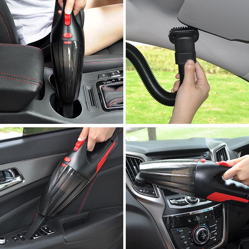 车载吸尘器无线充电式车用吸车器小型手持迷你家用强力车内大功率