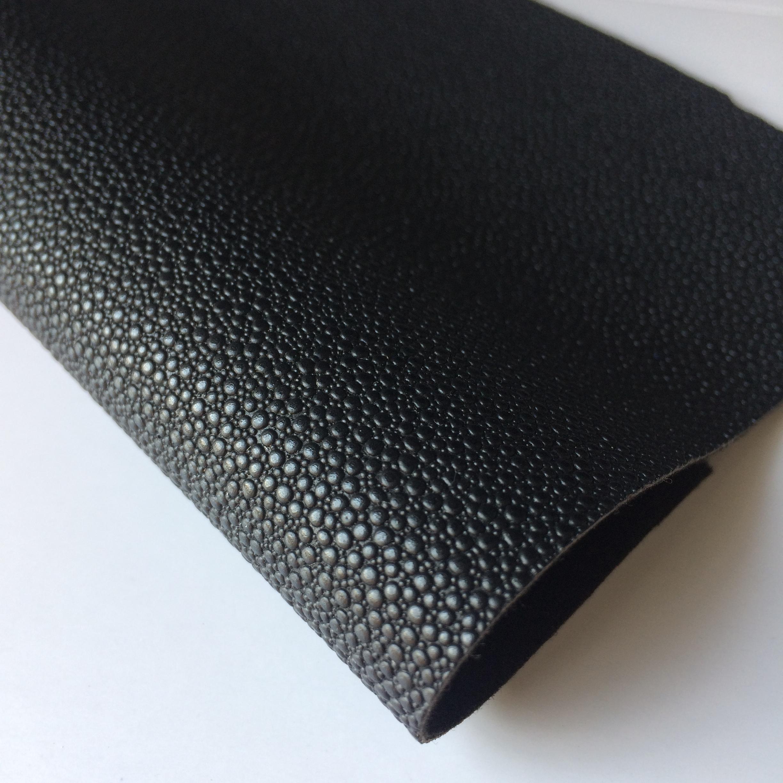 厂家优质现货水滴珍珠鱼皮料 人造革箱包手袋皮革面料 pvc革504-1