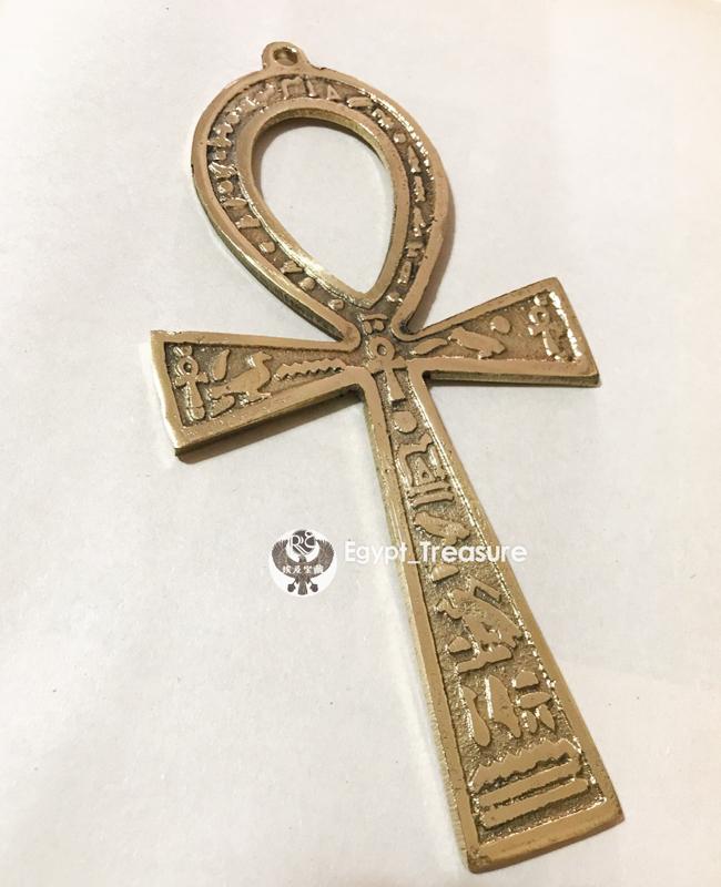 Товар в наличии Небольшое количество египетских особенностей пиктограммы Амулета Аньей жизни(L)Медный кулон