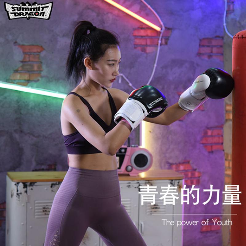 Summitdragon boxing gloves Sanda Training Boxing set mens and womens Taiquan fighting professional sandbag boxing set