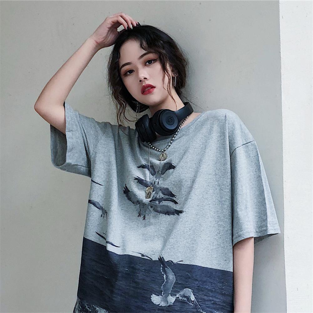 10月18日最新优惠超火cec丧系短袖女学生森系感t恤